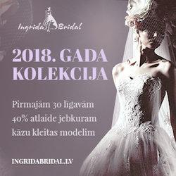 MEŽĢĪŅU KĀZU KLEITAS NO ZĪMOLA INGRIDA BRIDAL