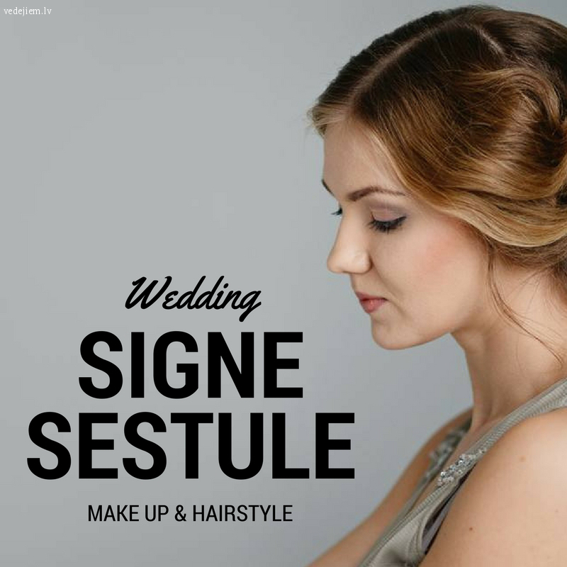 Signe Sestule - Make up & hairstyle