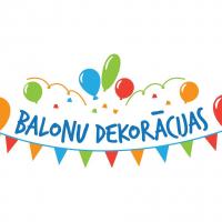 Hēlija baloni Talsos | Balonu dekorācijas