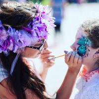 Bērnu seju apgleznošana - karaliska emociju izklaide kāzās