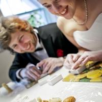 Burvīga kāzu programma Skrīveru Saldumu darbnīcā