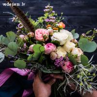 Dekoputni | Skaisti kāzu ziedi | Kāzu dekorēšana | Dekori