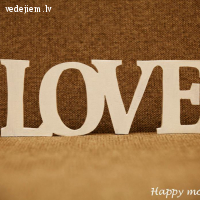 Dekoratīvais uzraksts -LOVE