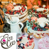 Evacep - kāzu kūkas