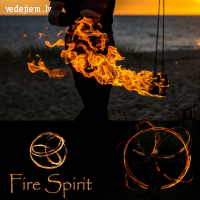 Fire Spirit | Padarīs krāsainākus Jūsu svētkus | Uguns šovs kāzās