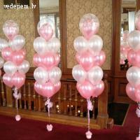 Gaisa baloni ar hēliju un apdruku