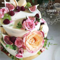 Garden Cakes - kāzu kūkas
