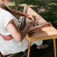 Ieva Veide | Profesionāla koklētāja | Kokle kāzās