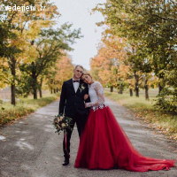 Inga Ezergale - šuju kāzu kleitas