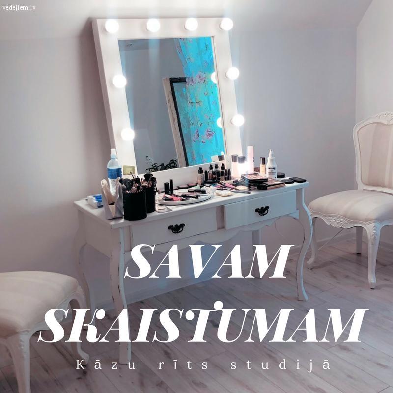 Kāzu rīts studijā | SAVAM SKAISTUMAM
