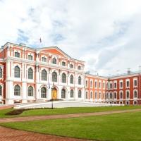 Laulību ceremonija Jelgavas pils pagalmā
