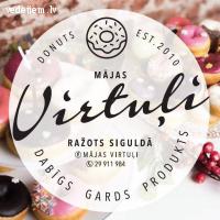 Mājas virtuļi Siguldā | Lieliski saldumi kāzām