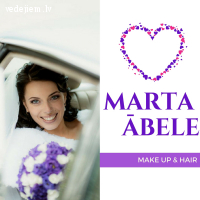 Marta Ābele - kāzu make up un frizūru meistare