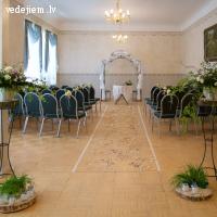 Laulību ceremonija | Mercendarbes muižas svinīgajā zālē