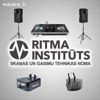 Ritma institūts - skaņas un gaismu tehnikas noma Jūsu kāzām