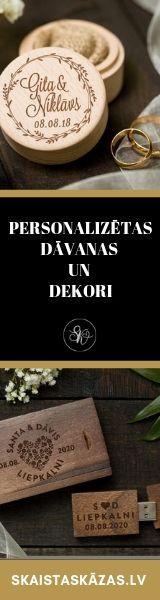 Skaistas Kāzas, Kāzu Dekori, personalizēti dekori