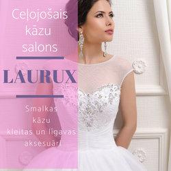 Kāzu salons Laurux | Ceļojošais kāzu salons | Kāzu kleitas