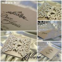 Allure darinātie kāzu ielūgumi