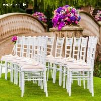 Balti Chiavari krēsli | Krēslu noma