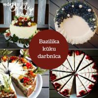 Bazilika kūku darbnīca | Kāzu kūkas Rīgā
