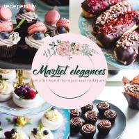 BIO konditoreja Aizputē | Mazliet elegances | Kāzu kūkas | Saldumu galdi ar gardumiem