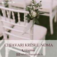 Chiavari krēslu noma | Labākā cena Rīgā