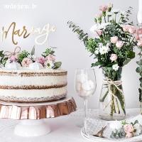 Dažādas kāzu kūku figūriņas