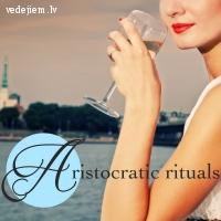 Elegances un labu manieru meistarklase vecmeitu ballītē | Afternoon champagne
