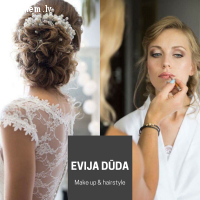 Evija Dūda - wedding make up & hairstyle