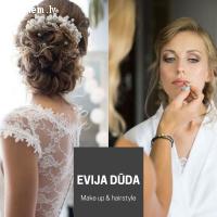 Evija Dūda - wedding make up & hairstyle