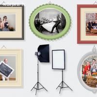 Fotostūrītis, tūlītēja bilžu druka, Polaroid kameras