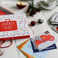 Lieliska kāzu dāvana | Galda spēle pāriem - Ceļojums mīlestībā