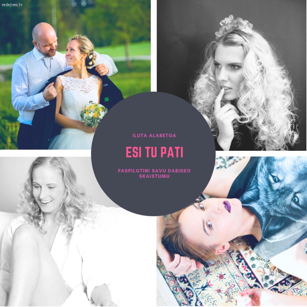 Iluta Alsberga | Līgavas grims | Līgavas matu sakārtojums