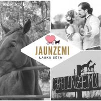 Izjādes ar zirgiem, lauku sētā Jaunzemi