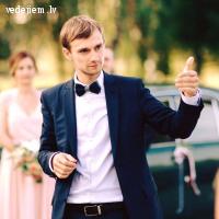 Jānis Rozenvalds - kāzu rīkotājs un vadītājs