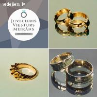 Juvelieris Viesturs Meirāns | Laulības gredzeni | Kāzu rotas