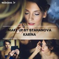 Karina Stahanova - vizuālā tēla stiliste, grima māksliniece
