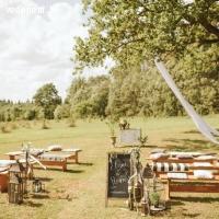 Kāzu ceremonija brīvā dabā | Mauriņu šķūnis