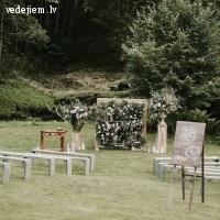 Kāzu ceremonija brīvā dabā | Nītaures dzirnavas