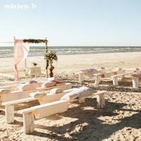 Kāzu ceremonija pie Jūras | Chill Inn