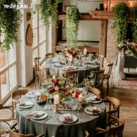 Kāzu dekorēšana un floristika | Maarberi STUDIO