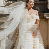 Kāzu dizaina studija Amelii piedāvā Latvijā radītas kāzu kleitas