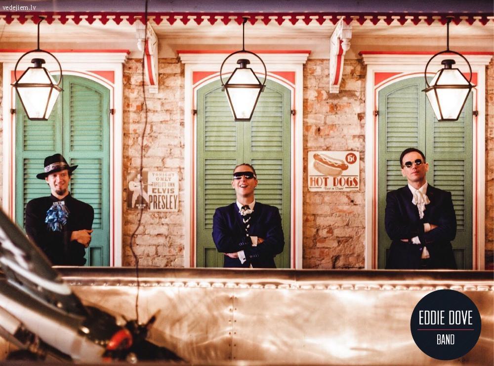 Kāzu muzikanti | Eddie Dove Band