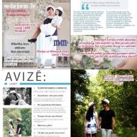 Kristīne Klupša - kāzu žurnāls