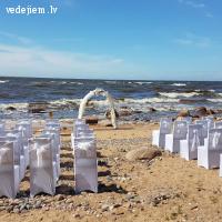 Laulību ceremonija pie jūras - Vecmuižā