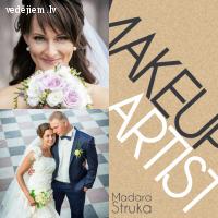 Madara Struka kāzu Make-up