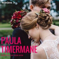 Make-up, hair style artist Paula Timermane