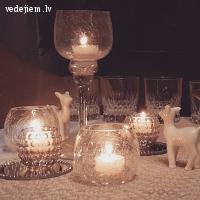 Marmelāde Deko | Trauku noma | Kristāla glāzes uz nomu