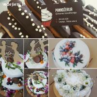 Panndžerija - sapņu tortes | Kāzu kūkas Liepājā