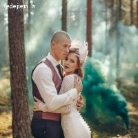 Pasaulē labākās dūmu sveces kāzu fotosesijai un video